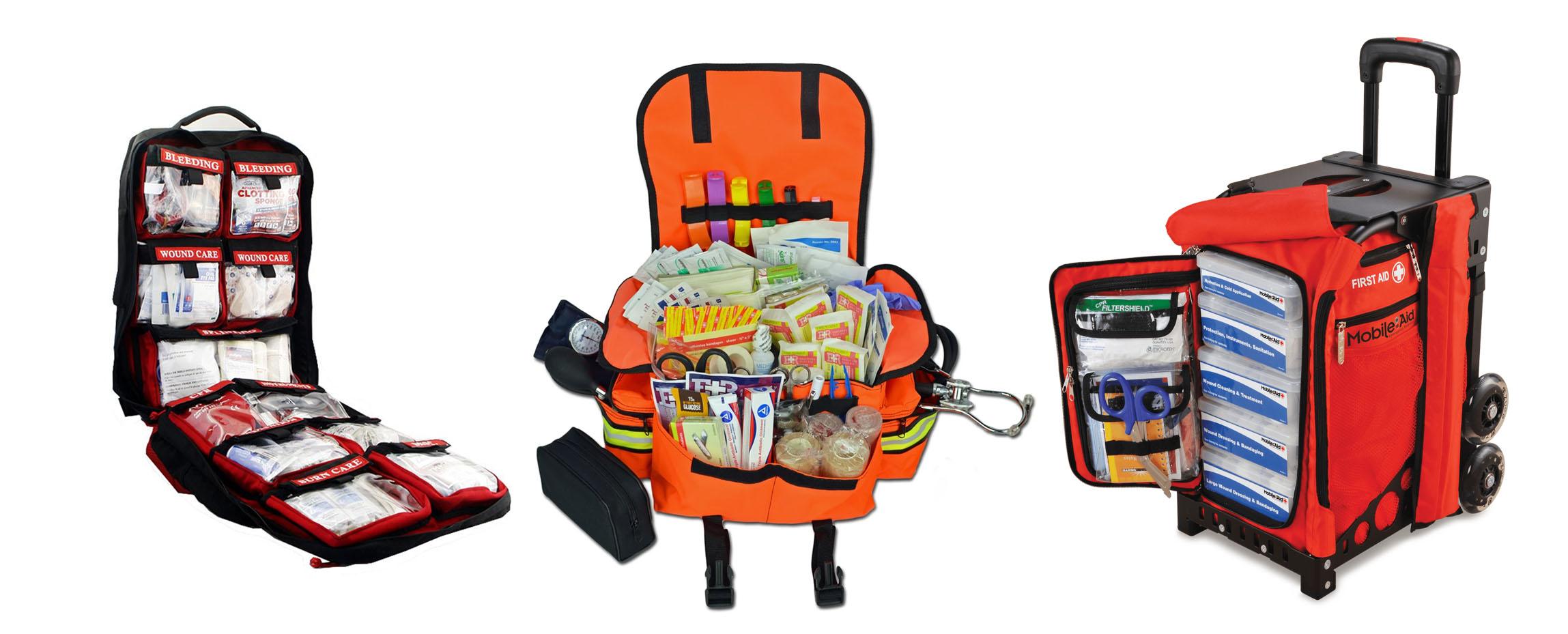 Different Variants of Trauma First Aid Kits